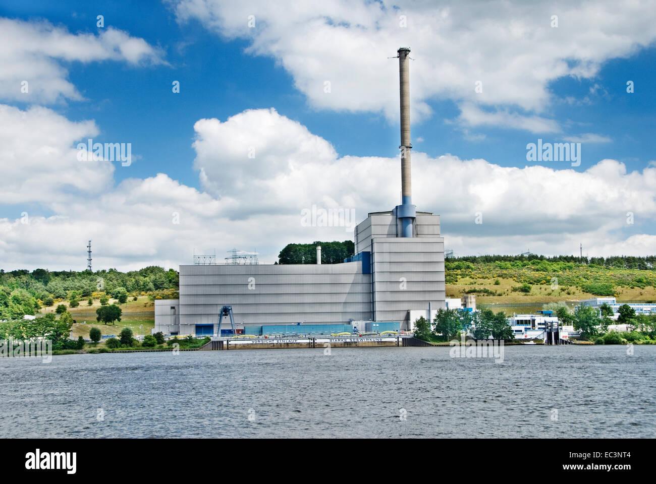 Atomic power plant Kruemmel in Geesthacht, Germany - Stock Image