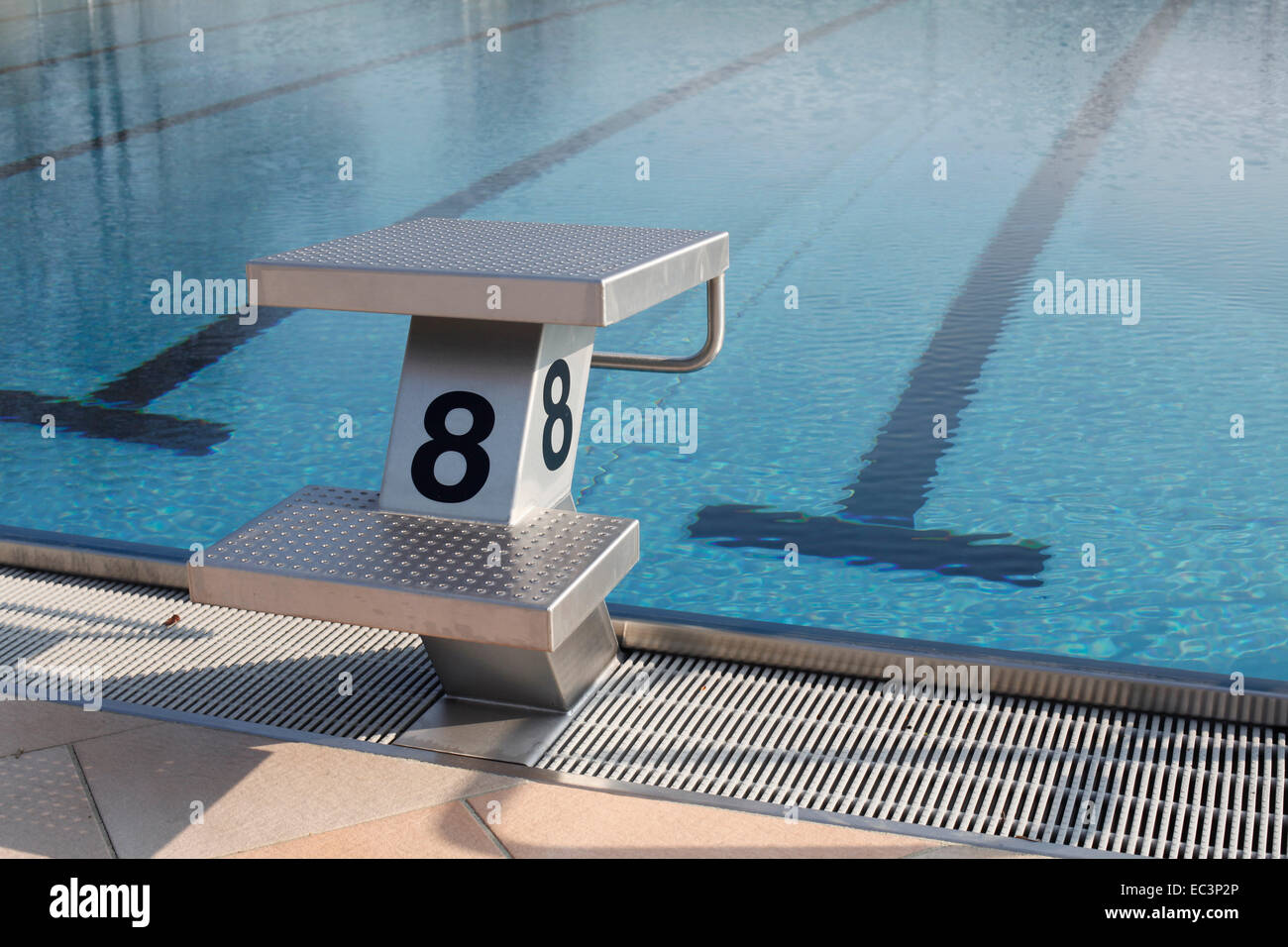 Indoor swimming pool diving board Stock Photo: 76300526 - Alamy