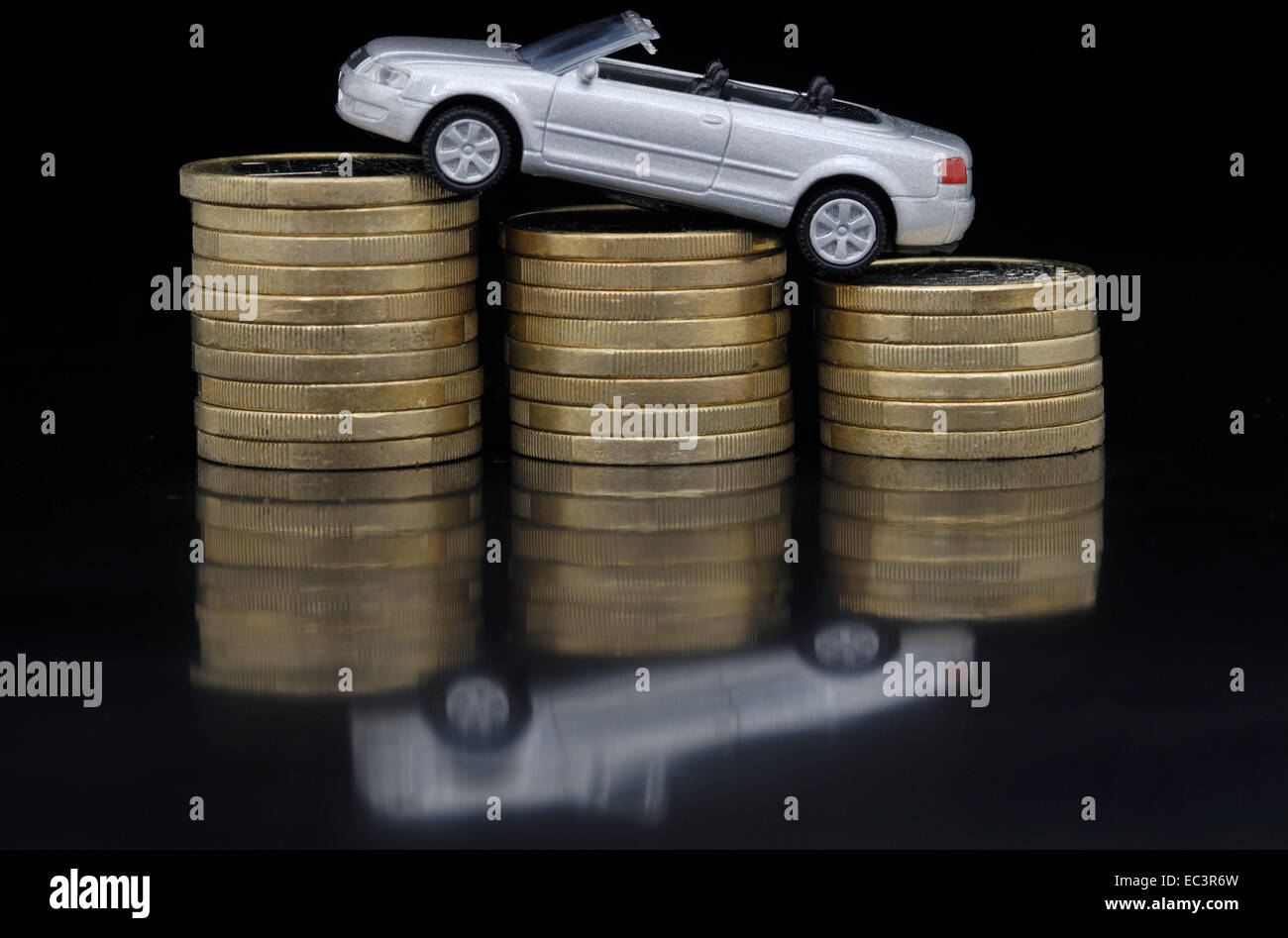 Car Costs - Stock Image