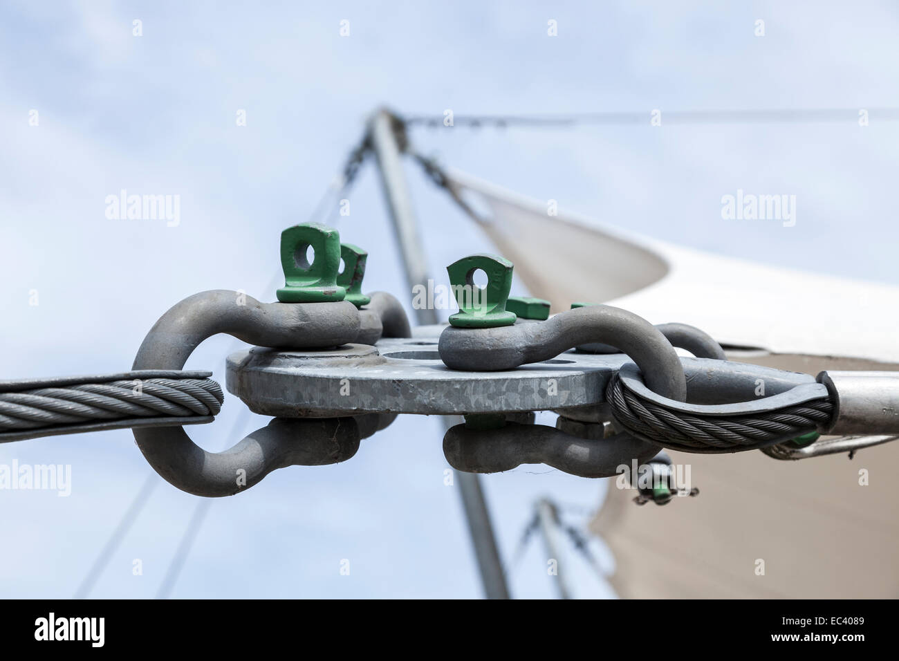 technical connection - Stock Image