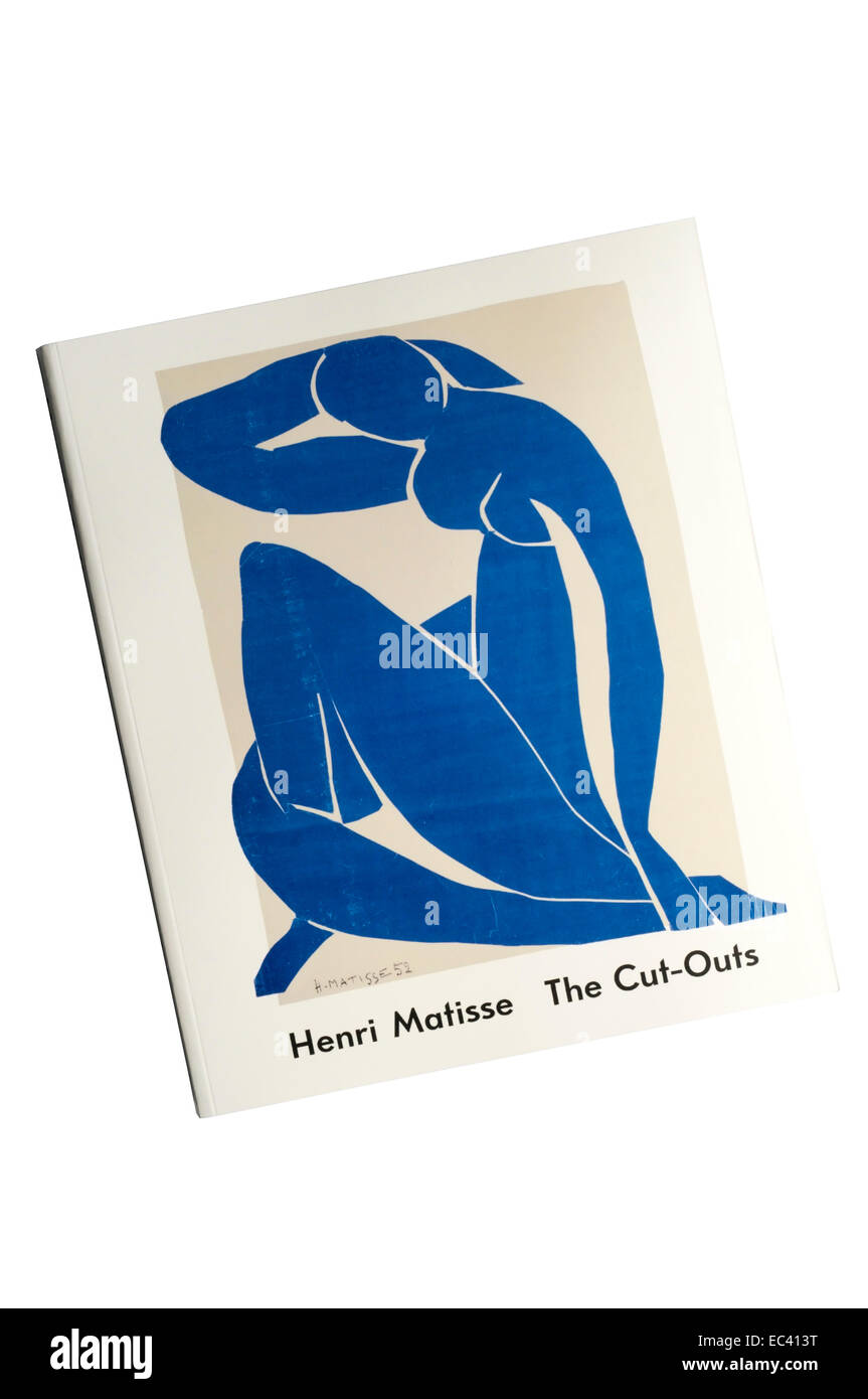 Catalogue for the 2014 exhibition, Henri Matisse The Cut-Outs, at Tate Modern. - Stock Image