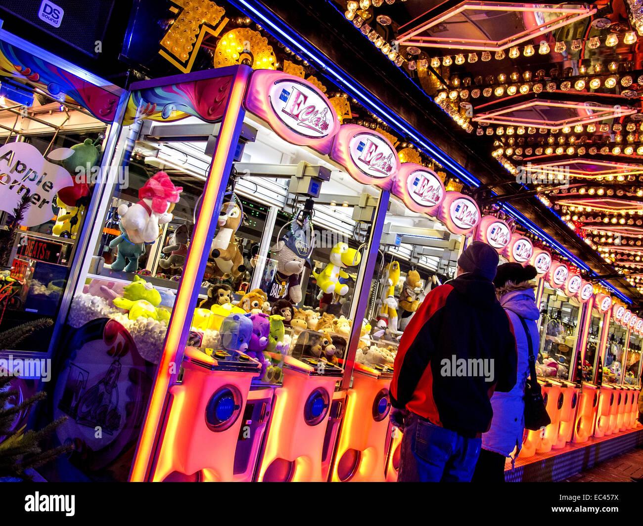 rummel at night - Stock Image