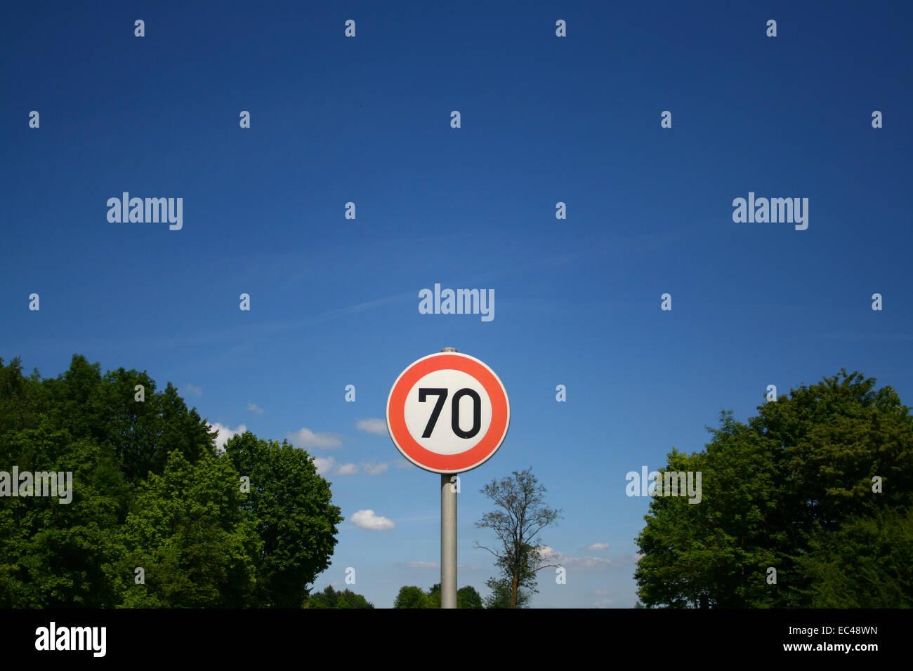 traffic regulation - Stock Image