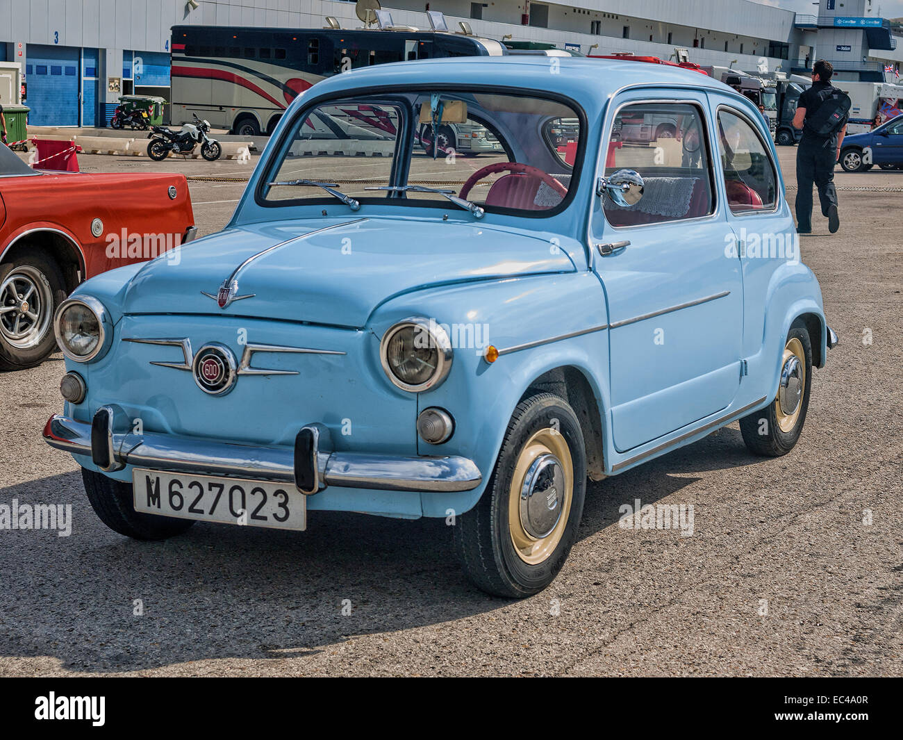 02c44a75bc JEREZ SPAIN OCTOBER 12 2013 seat 600 . This spanish car was a copy of the