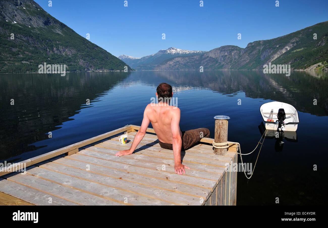 The Hardanger Fjord - Stock Image
