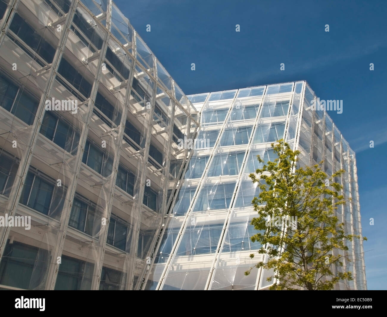 Sustainable Building in the Harbour City, Hamburg, Germany - Stock Image
