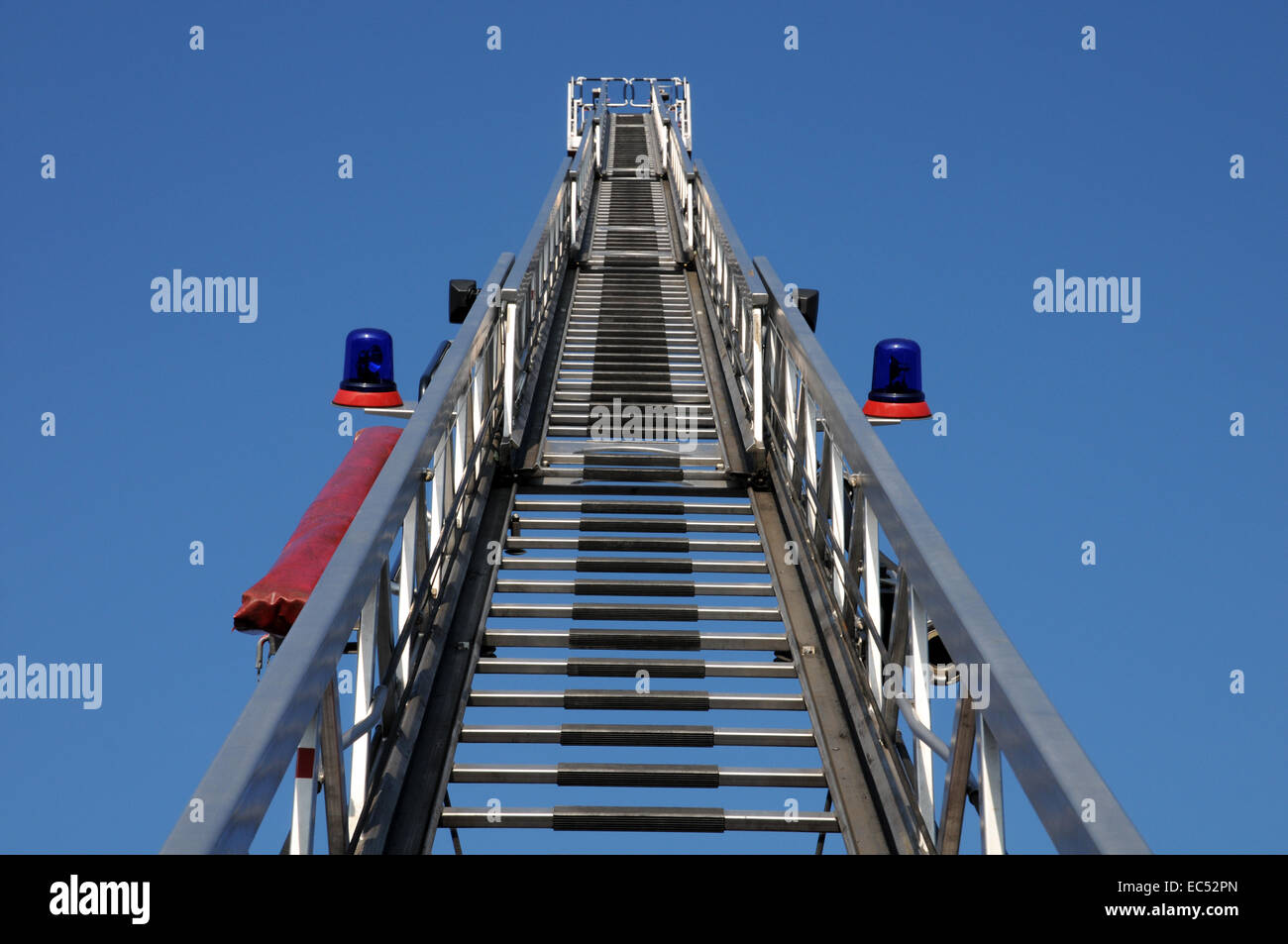 fire ladder - Stock Image