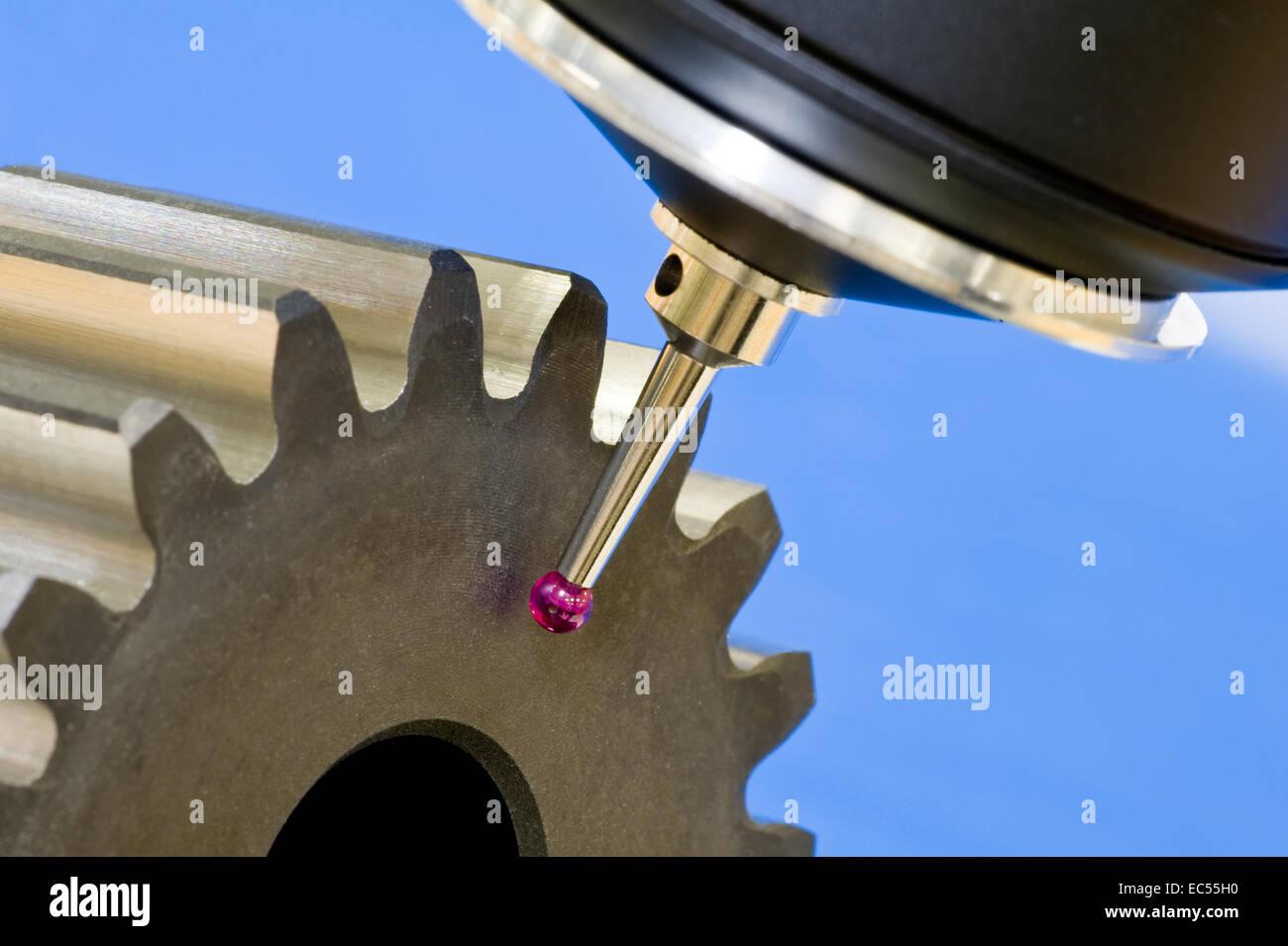 3 D coordinate measuring - Stock Image