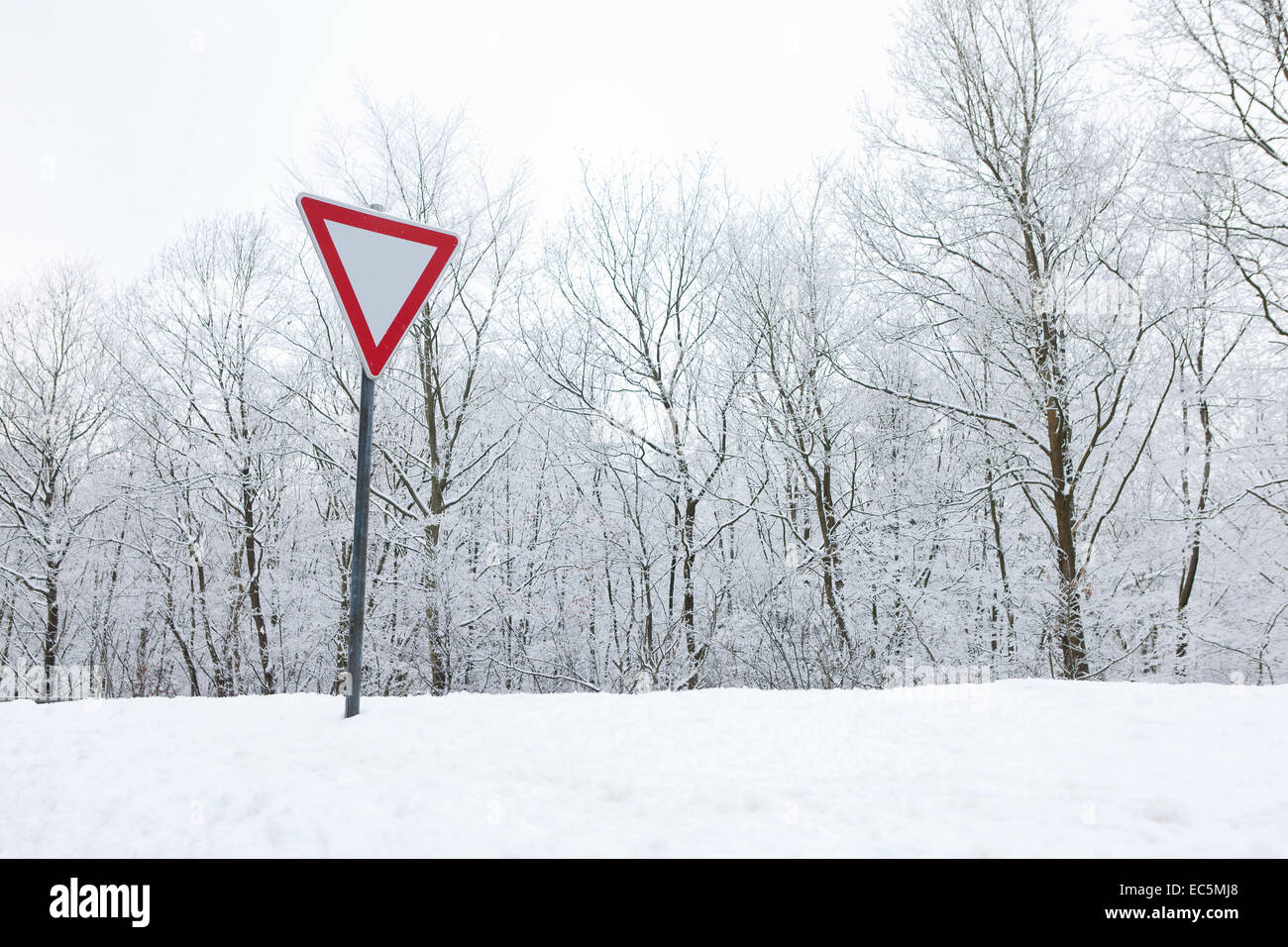 Right of way - Stock Image