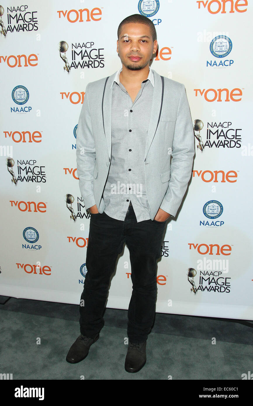 Los Angeles, California, USA. 9th Dec, 2014. Jake Smollett attends 46th NAACP Image Awards Nomination Announcement Stock Photo