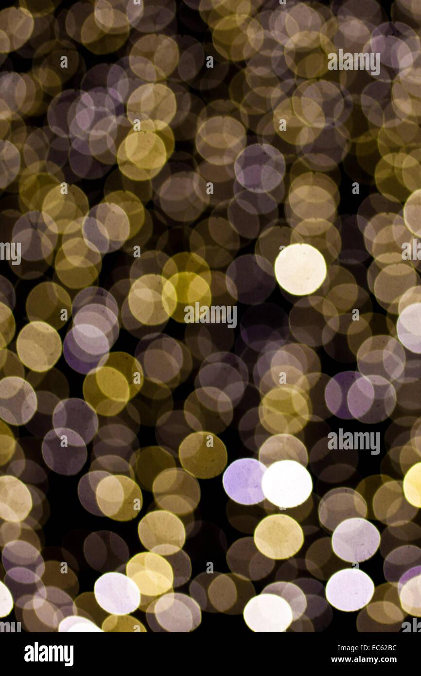 Christmas illumination - Stock Image
