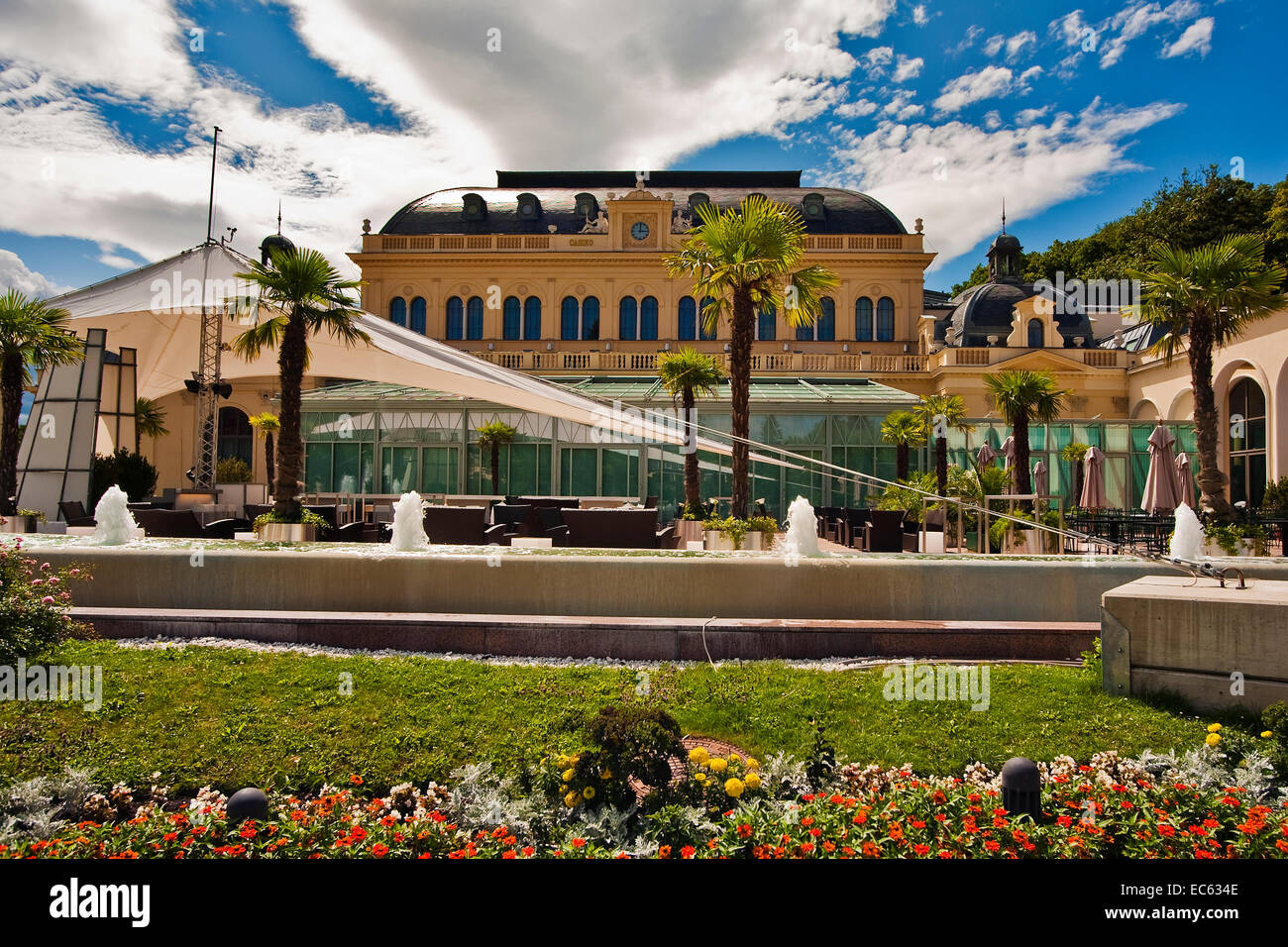gambling casino in Baden near Vienna, Lower Austria, Austria, Europe Stock Photo