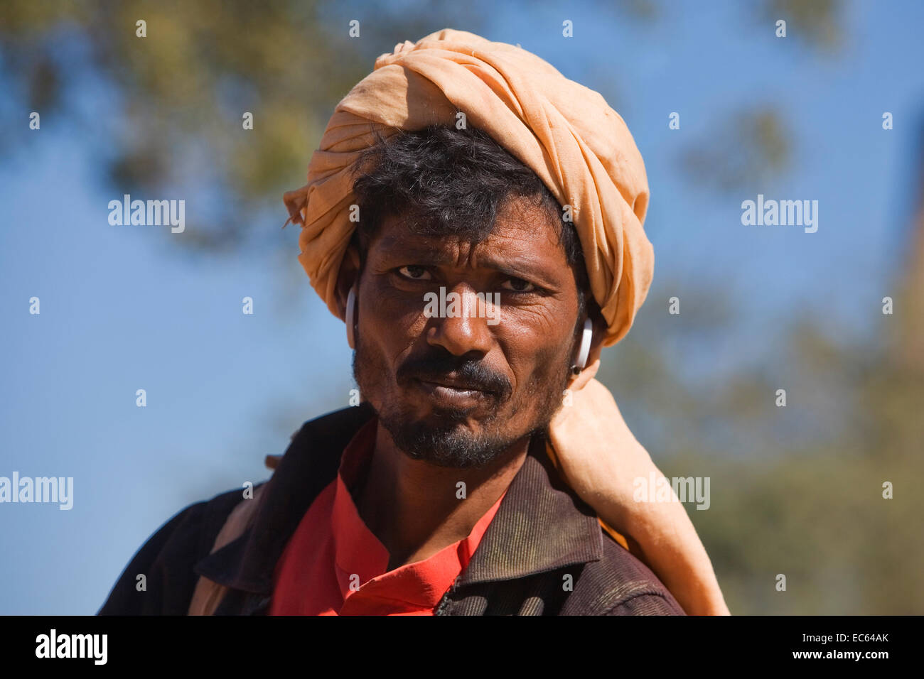 indian with turban, North India, India, Asia - Stock Image