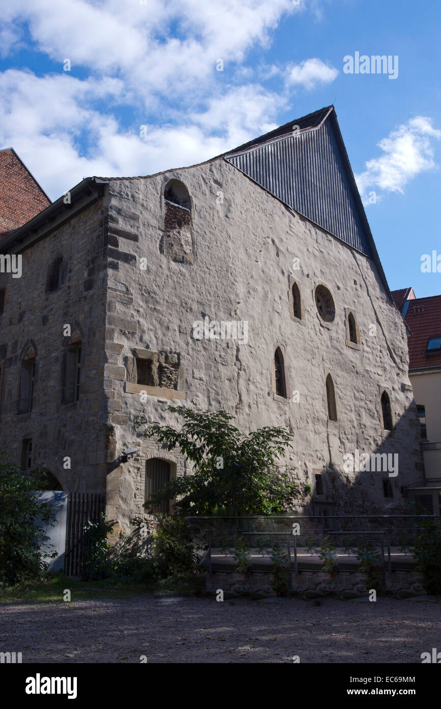 Old Synagogue, Erfurt, Thuringia, Germany, Europe - Stock Image