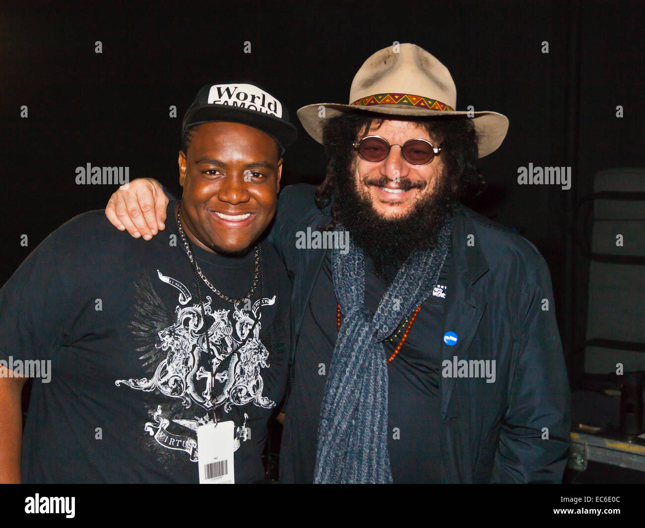 DON WAS backstage at the MONTEREY JAZZ FESTIVAL - Stock Image