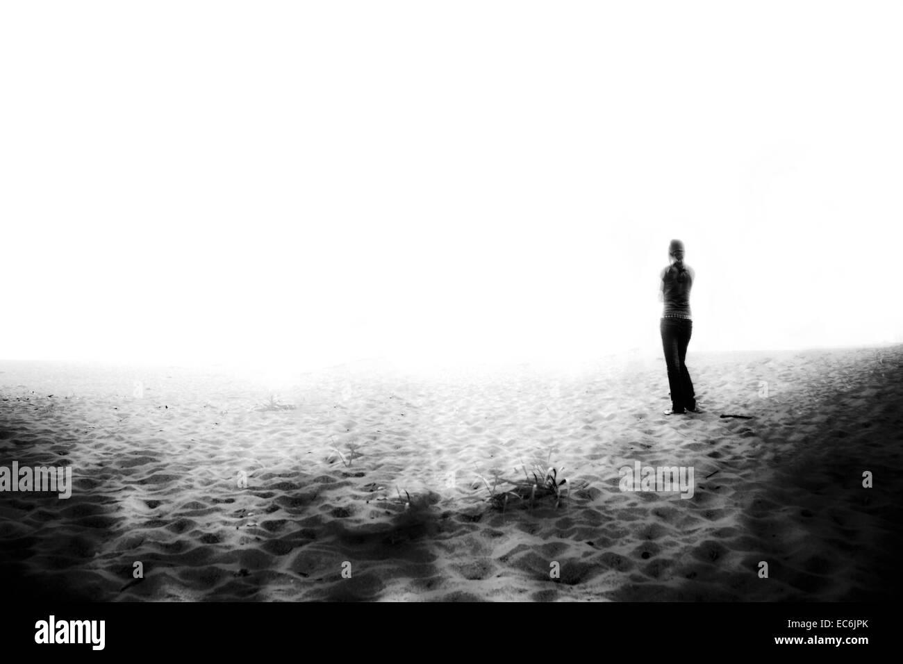 silence - Stock Image