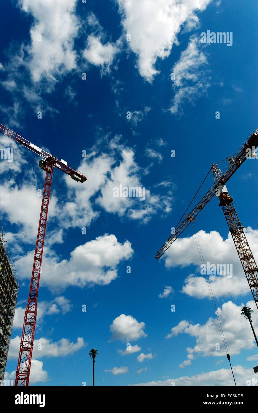 Construction site - Stock Image