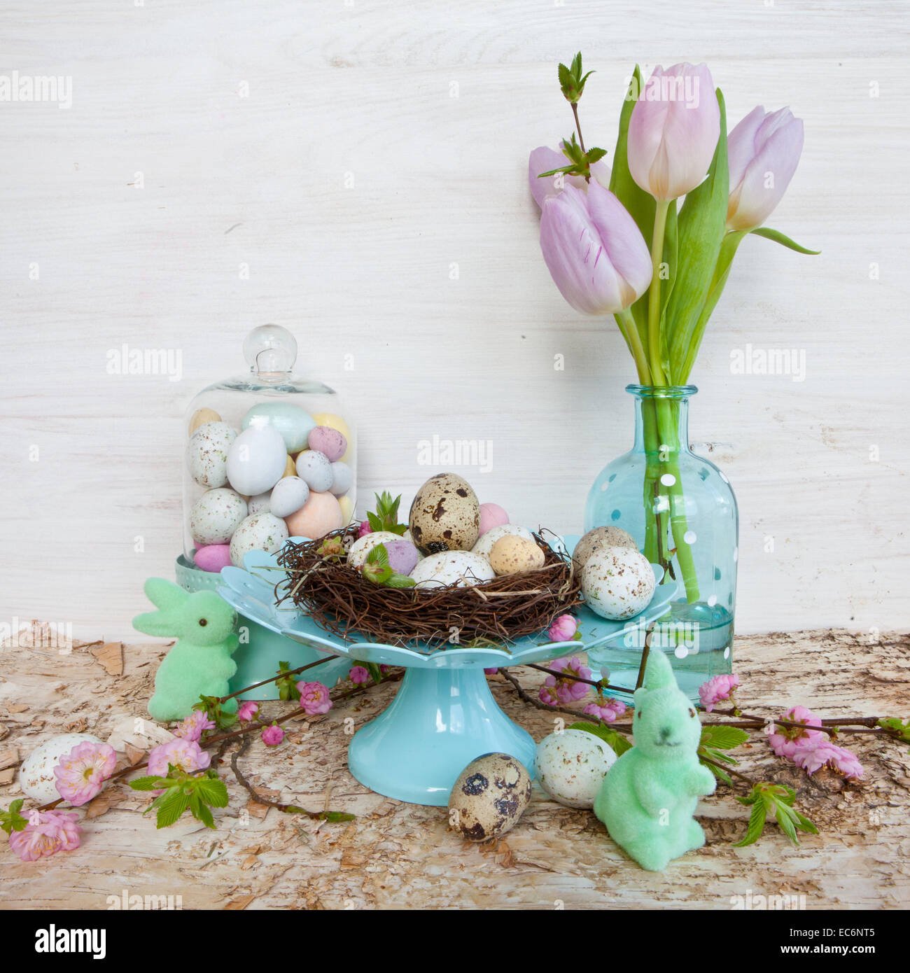Easter decorations - Stock Image