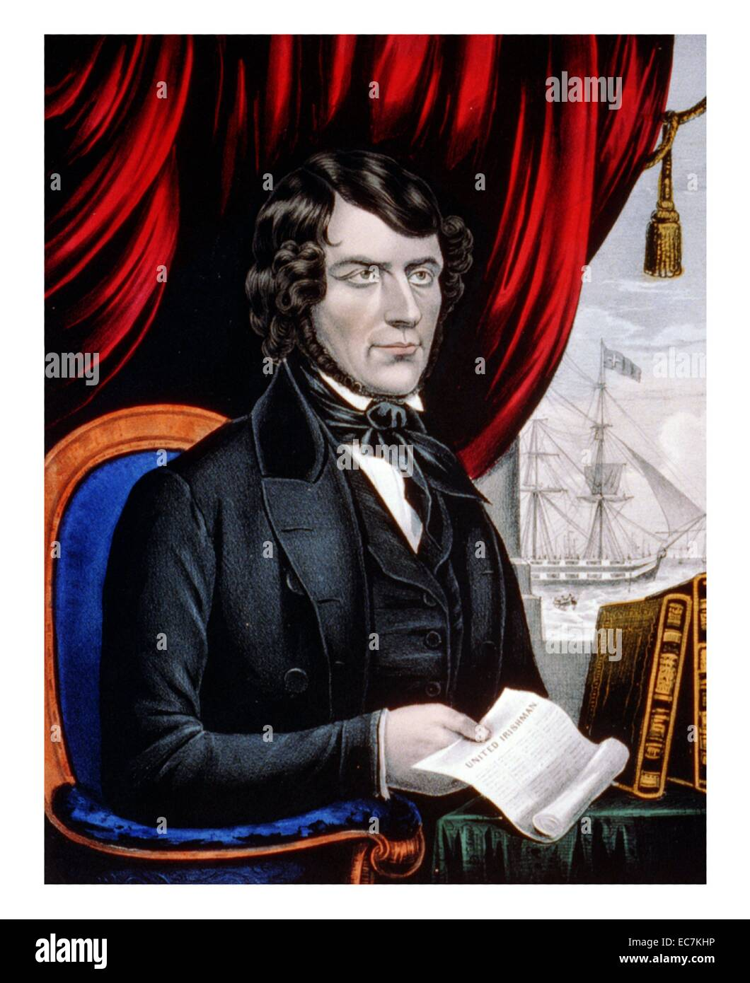 5ed3cf253e John Mitchel - the first martyr of Ireland during her revolution of 1848.  He holds