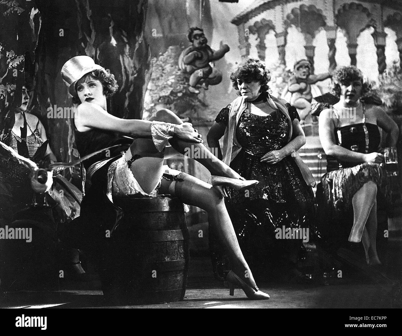 Marlene Dietrich, German, actress, movies, film, cinema, icon, singer, Blue Angel, top hat, tuxedo - Stock Image