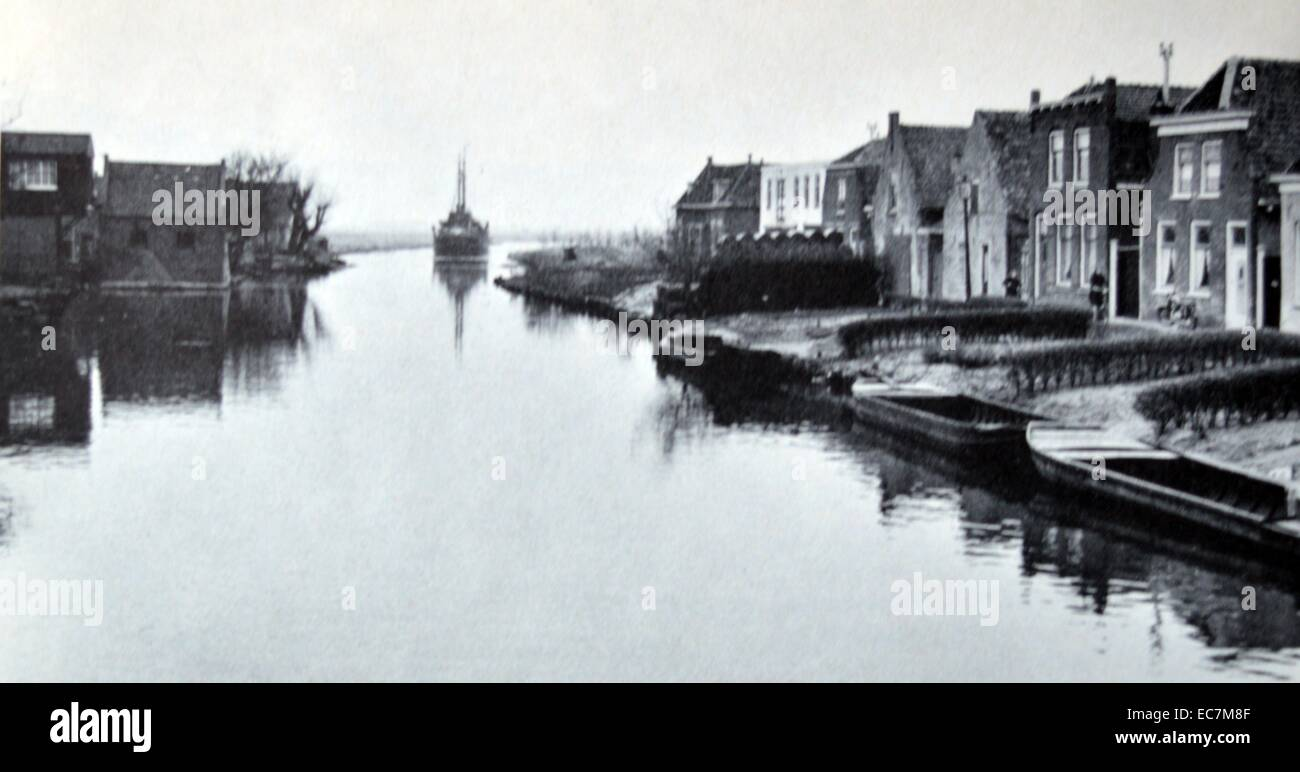 Flooding in Holland in 1953 - Stock Image