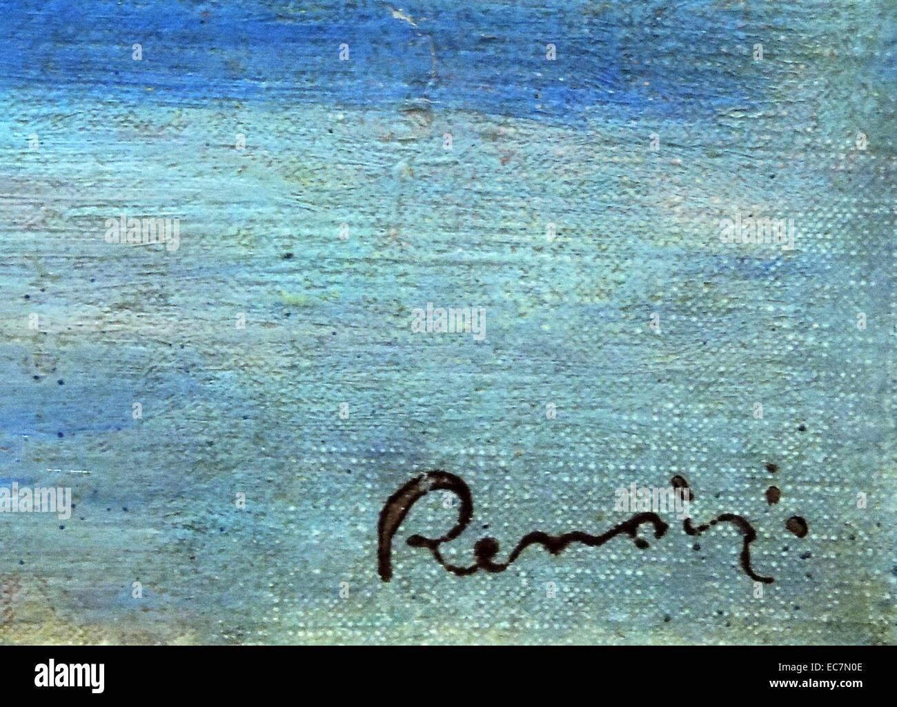 Cros de Cagnes, Mer Montagnes by Auguste Renoir - Stock Image