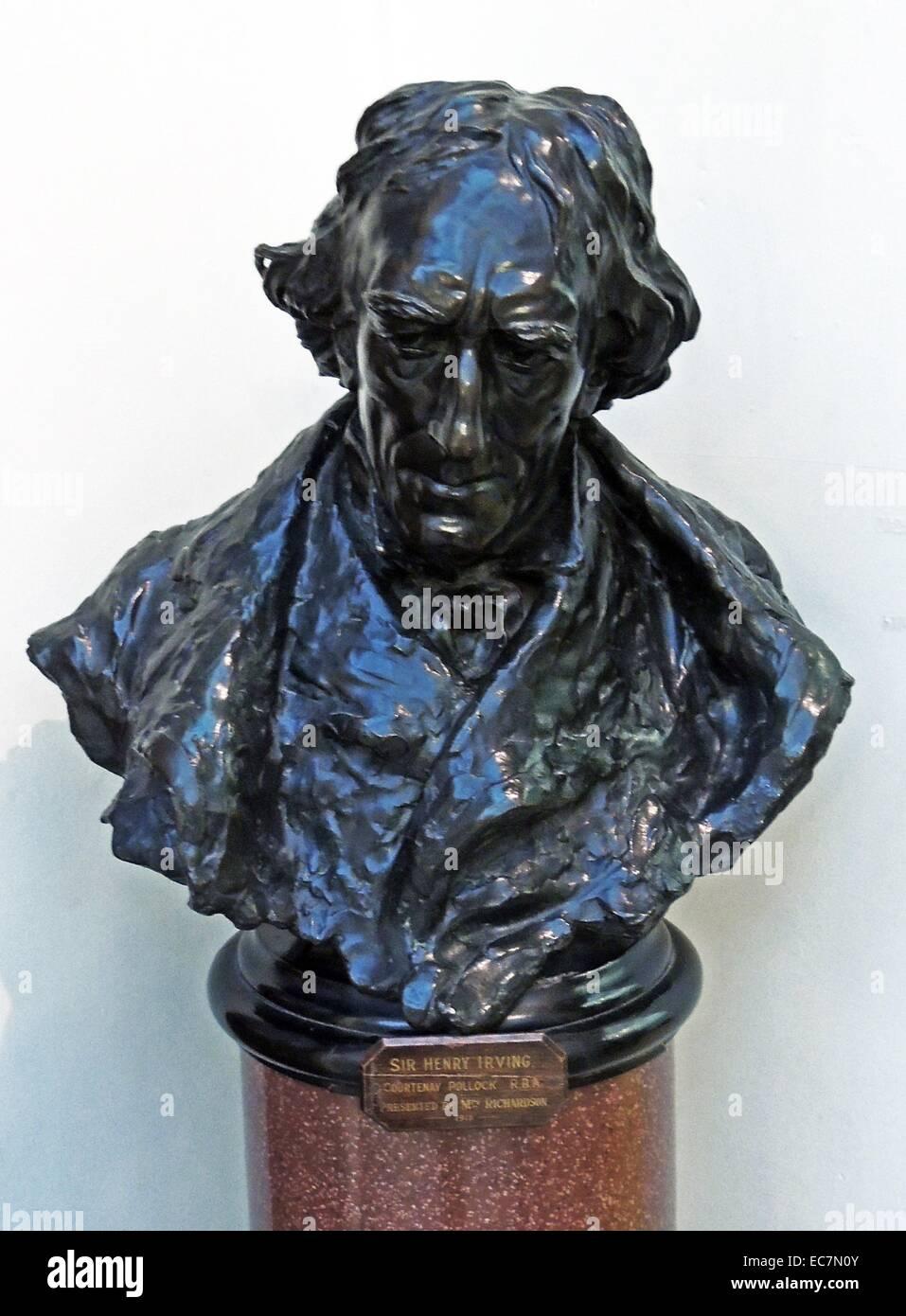 Sir Henry Irving born John Henry Brodribb. - Stock Image