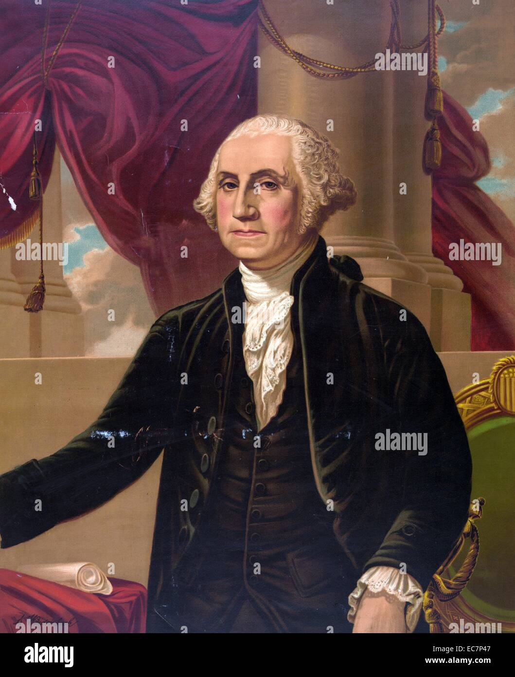 picture regarding Printable Pictures of George Washington named George Washington. Print exhibiting George Washington, name