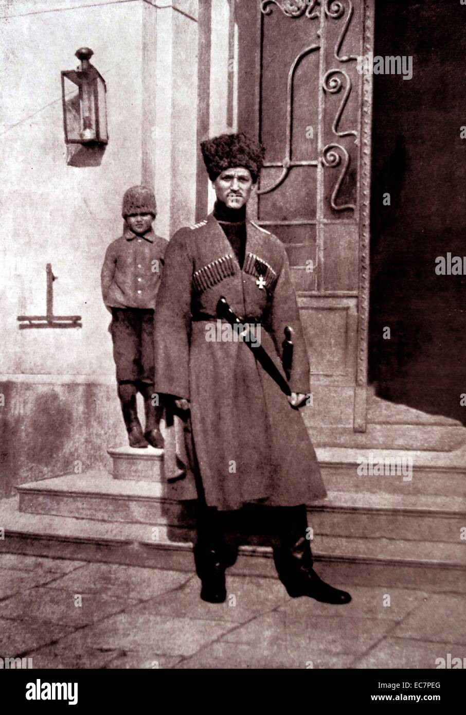 Grand Duke Michael Alexandrovich of Russia 1878 – 13 June 1918) was the youngest son of Emperor Alexander III of Stock Photo
