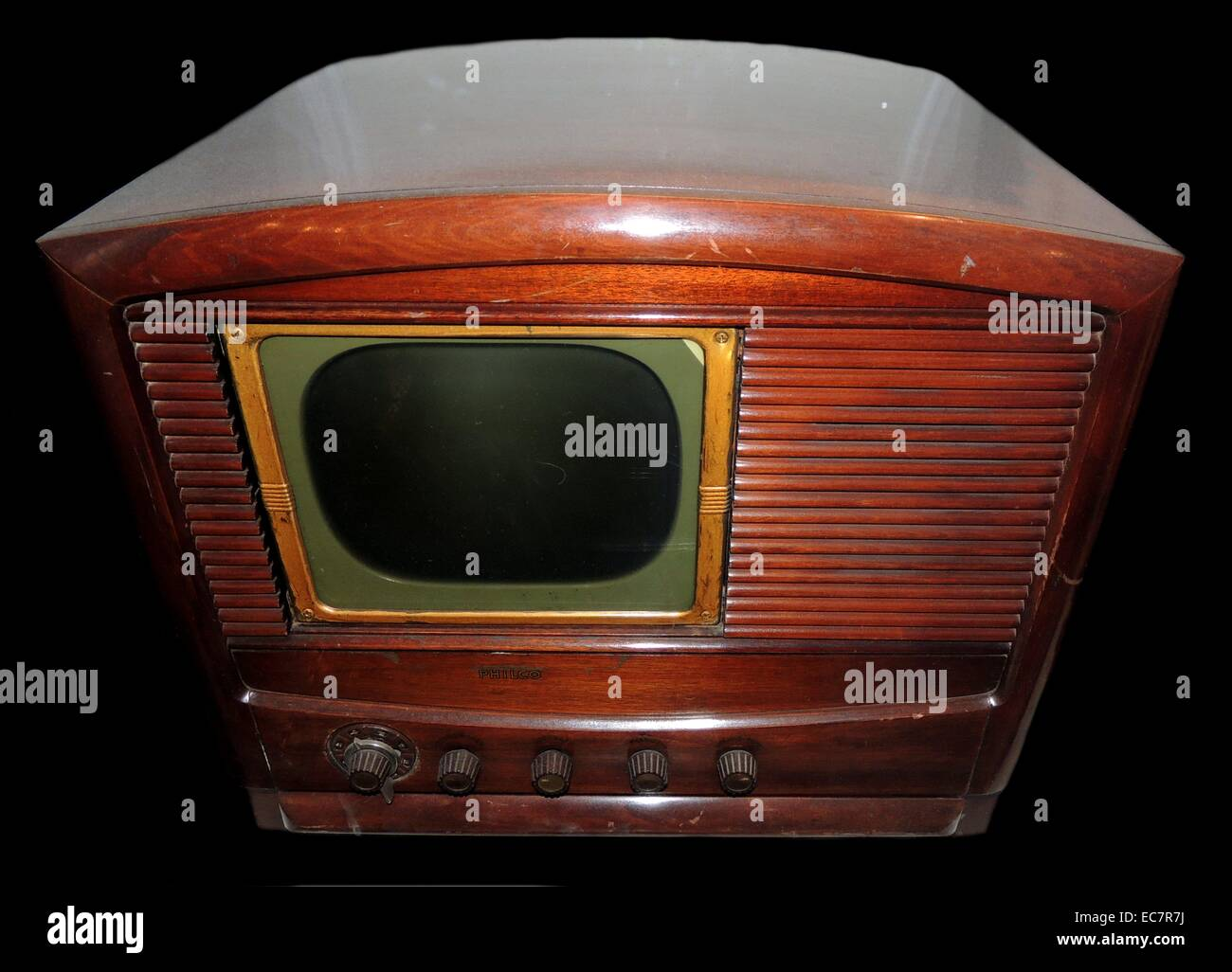 Television Manufactured by Philco - Stock Image