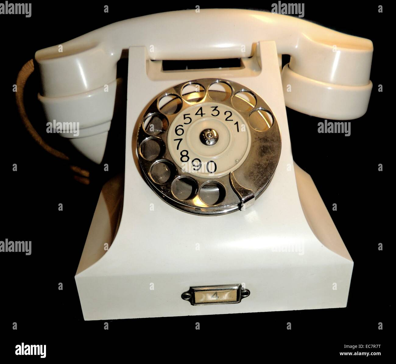 Telephone used by the King and Queen of Norway in the 1930's - Stock Image