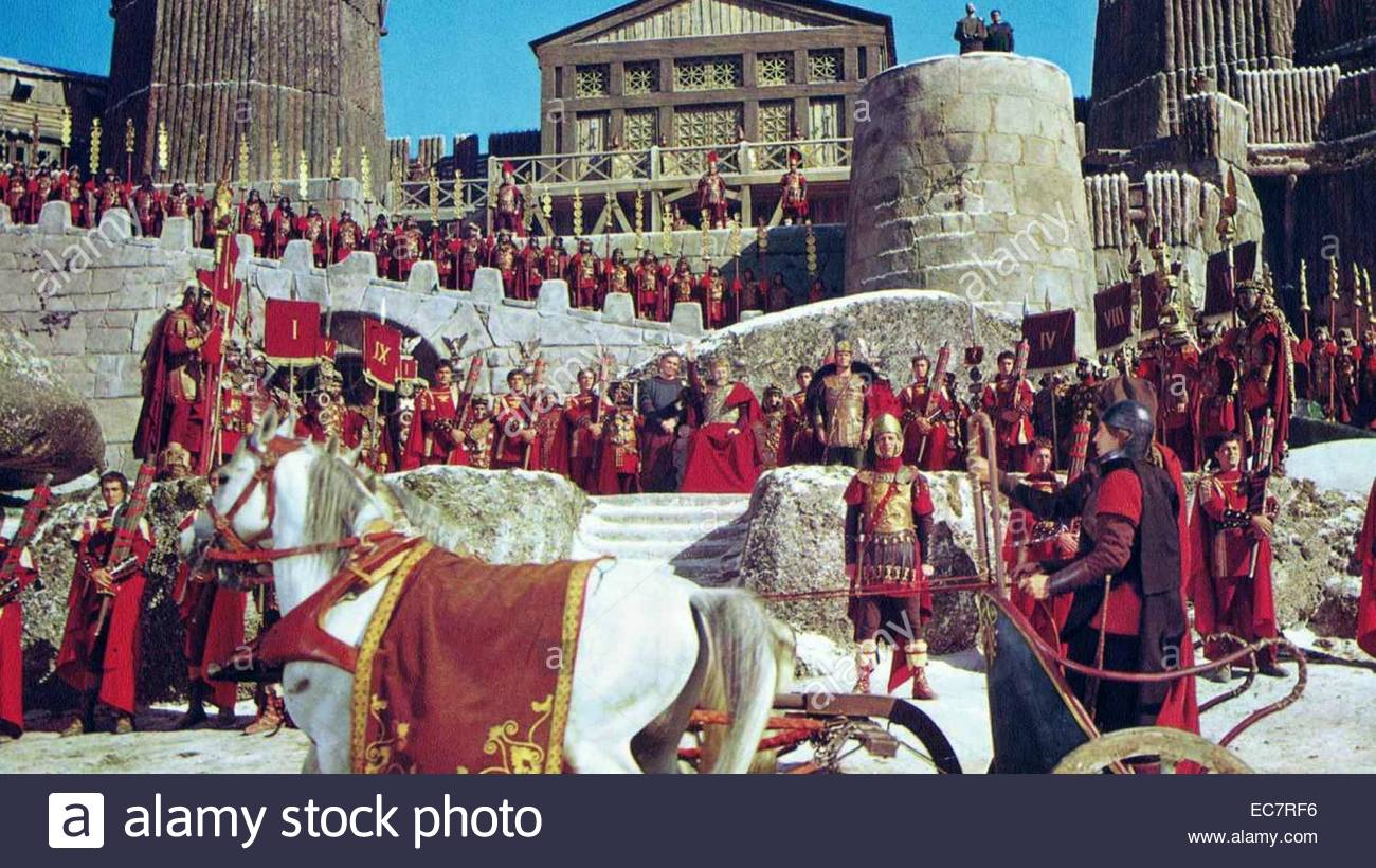 The Fall of the Roman Empire - Stock Image