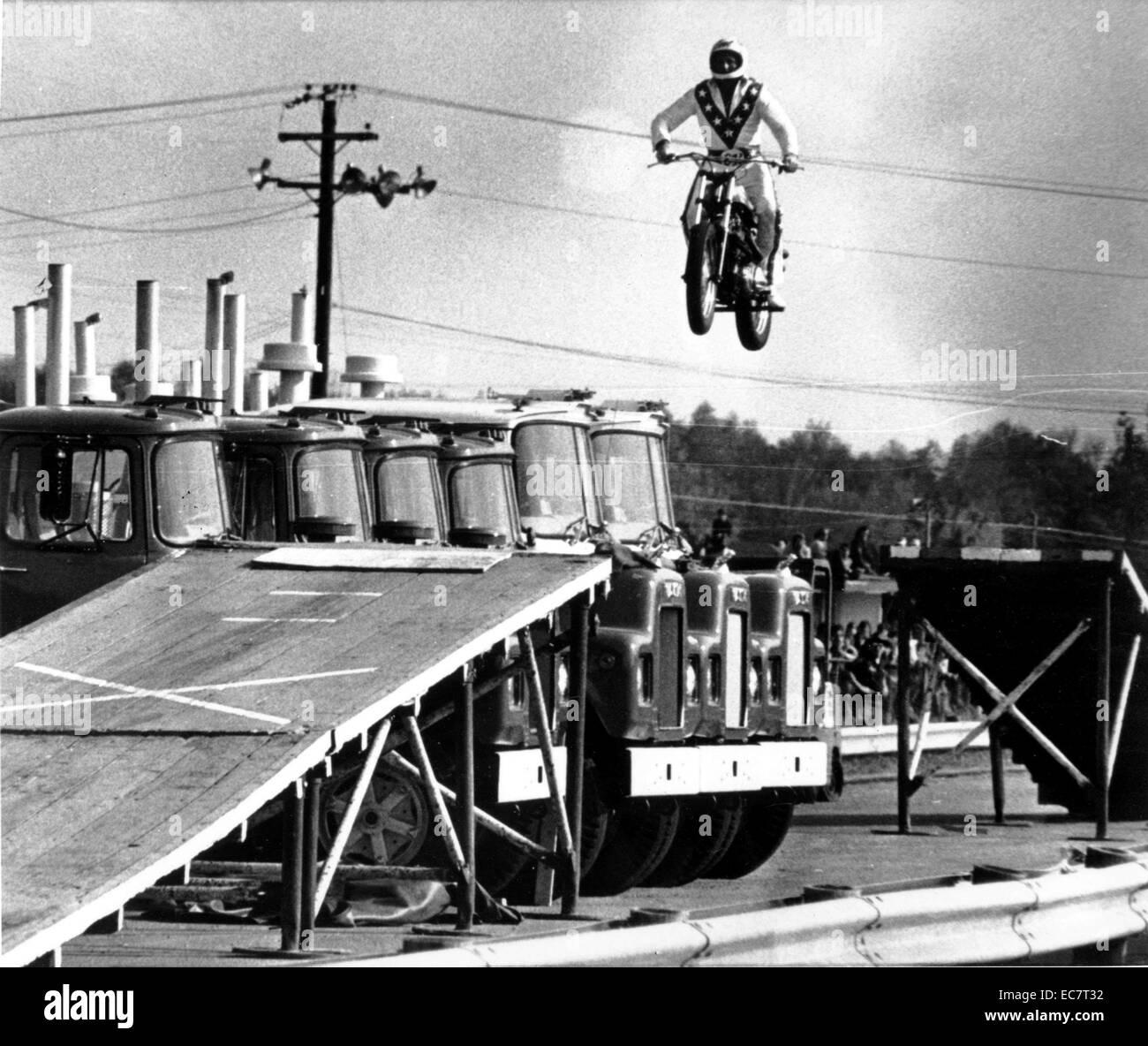 Evel Knieval - Stock Image
