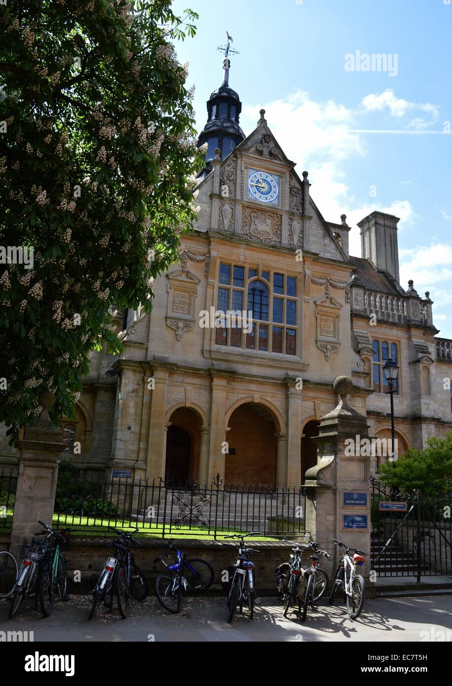history faculty at Oxford university, Oxford, England - Stock Image