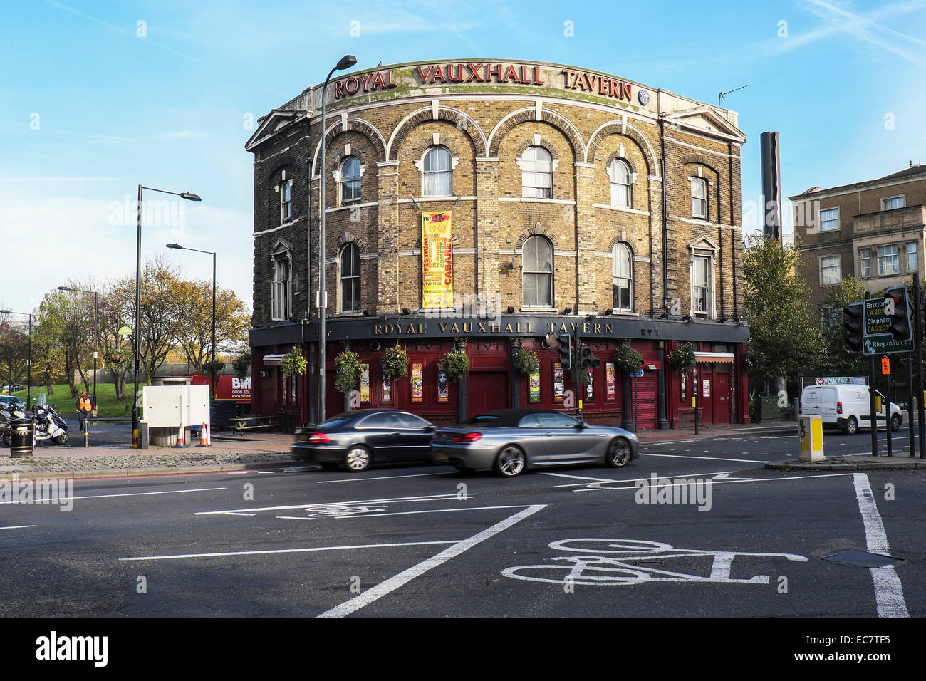 The Royal Vauxhall Tavern in London. - Stock Image