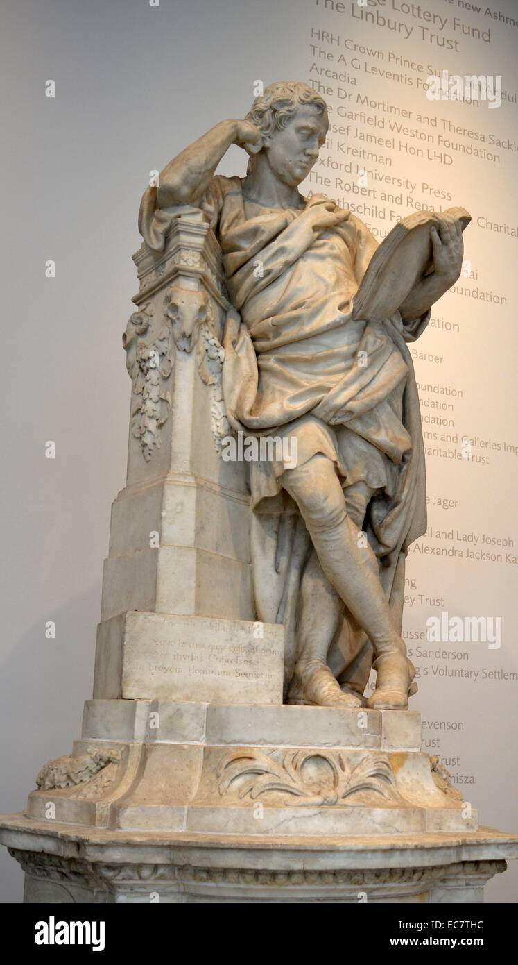 Statue of Sir George Cooke - Stock Image