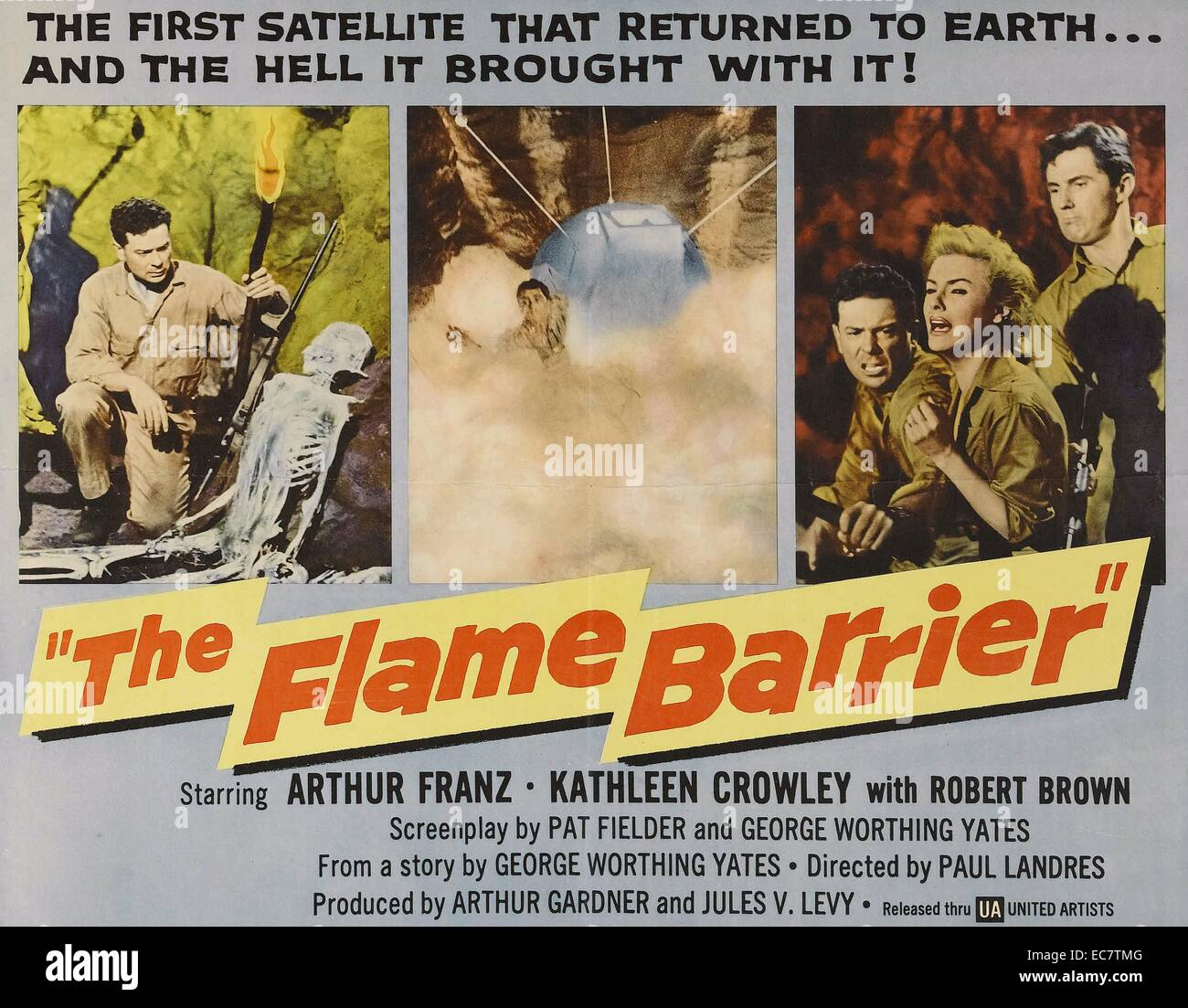 The Flame Barrier - Stock Image