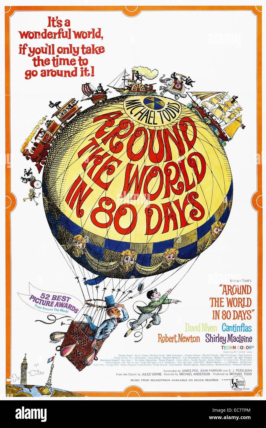 Around the World in 80 Days - Stock Image