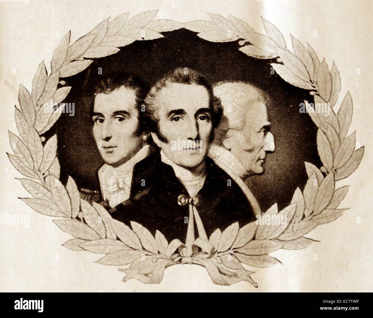 portrait of the duke of wellington. - Stock Image