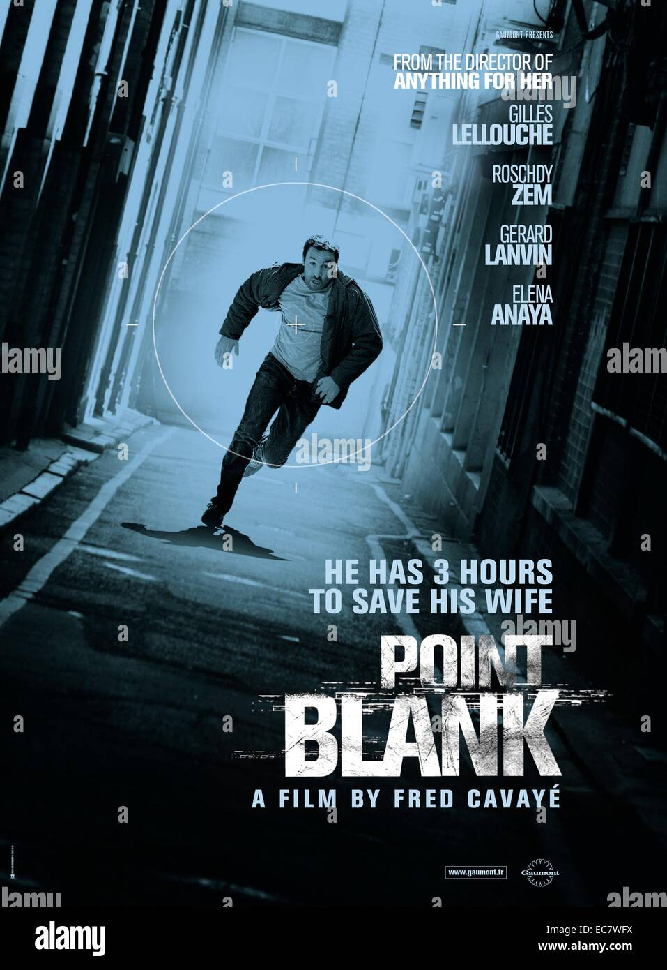 Point Blank (2010) 'À bout portant' (original title). french action, crime, thriller. - Stock Image