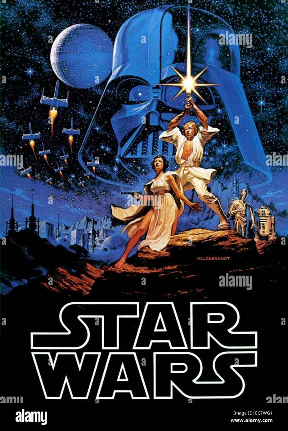Star Wars Poster High Resolution Stock Photography And Images Alamy