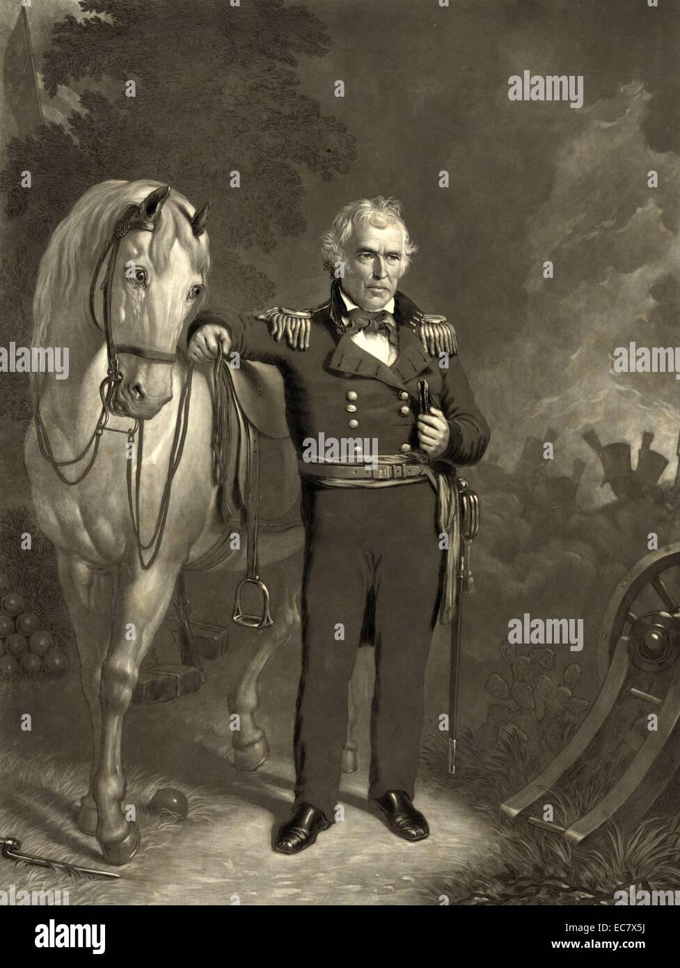 President Zachary Taylor - Stock Image