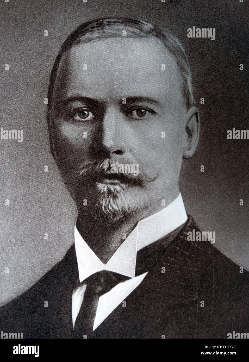 Jan Christiaan Smuts;    (1870 – 1950) South African and British Commonwealth statesman - Stock Image