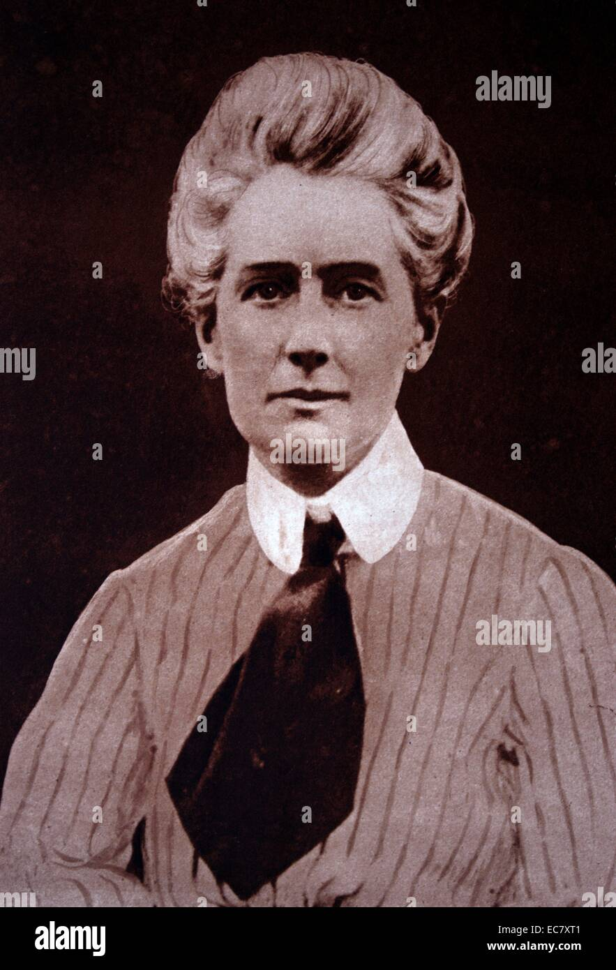 Edith Louisa Cavell (1865 – 12 October 1915) - Stock Image
