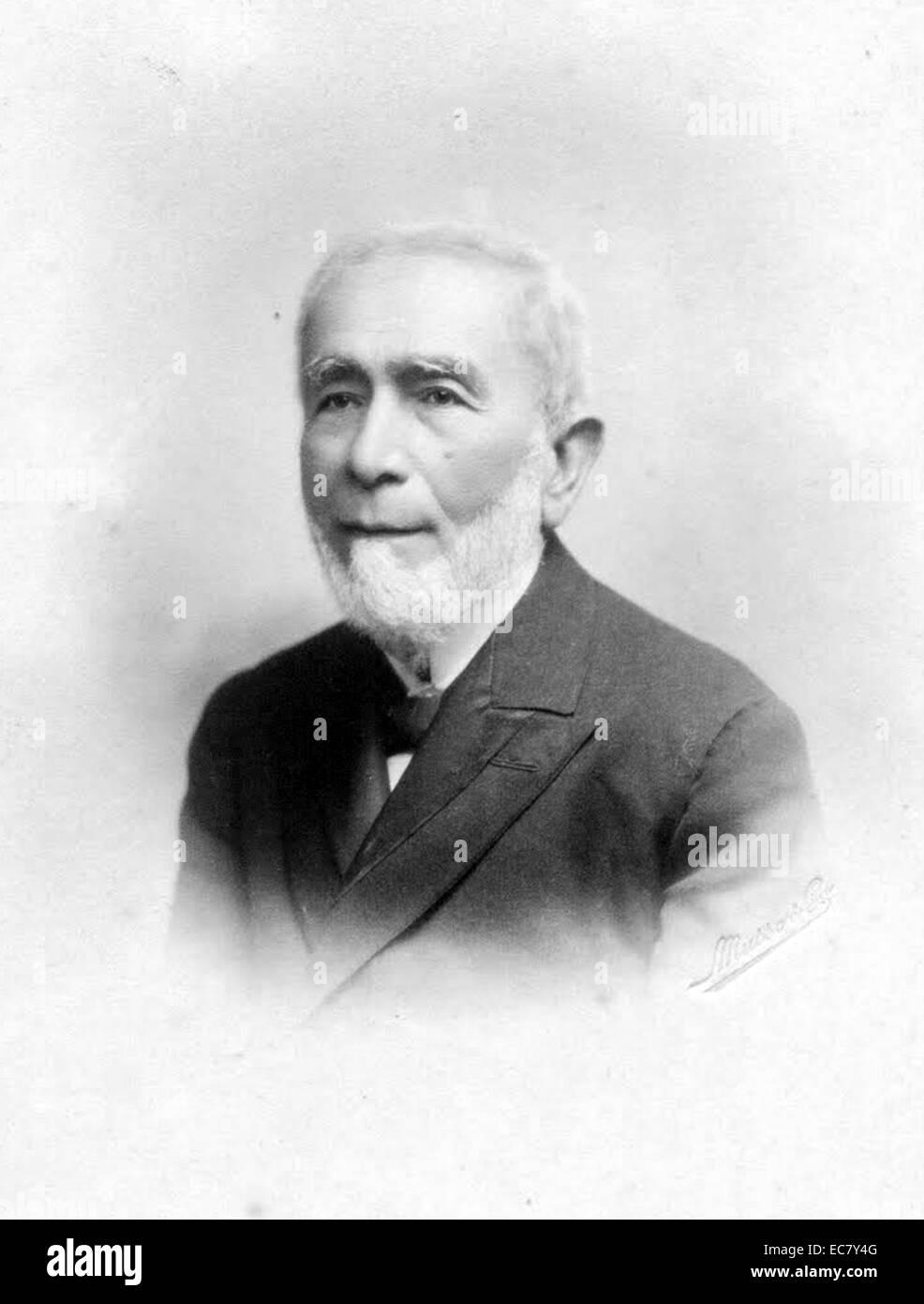 Lithograph of John Lustosa da Cunha - Stock Image