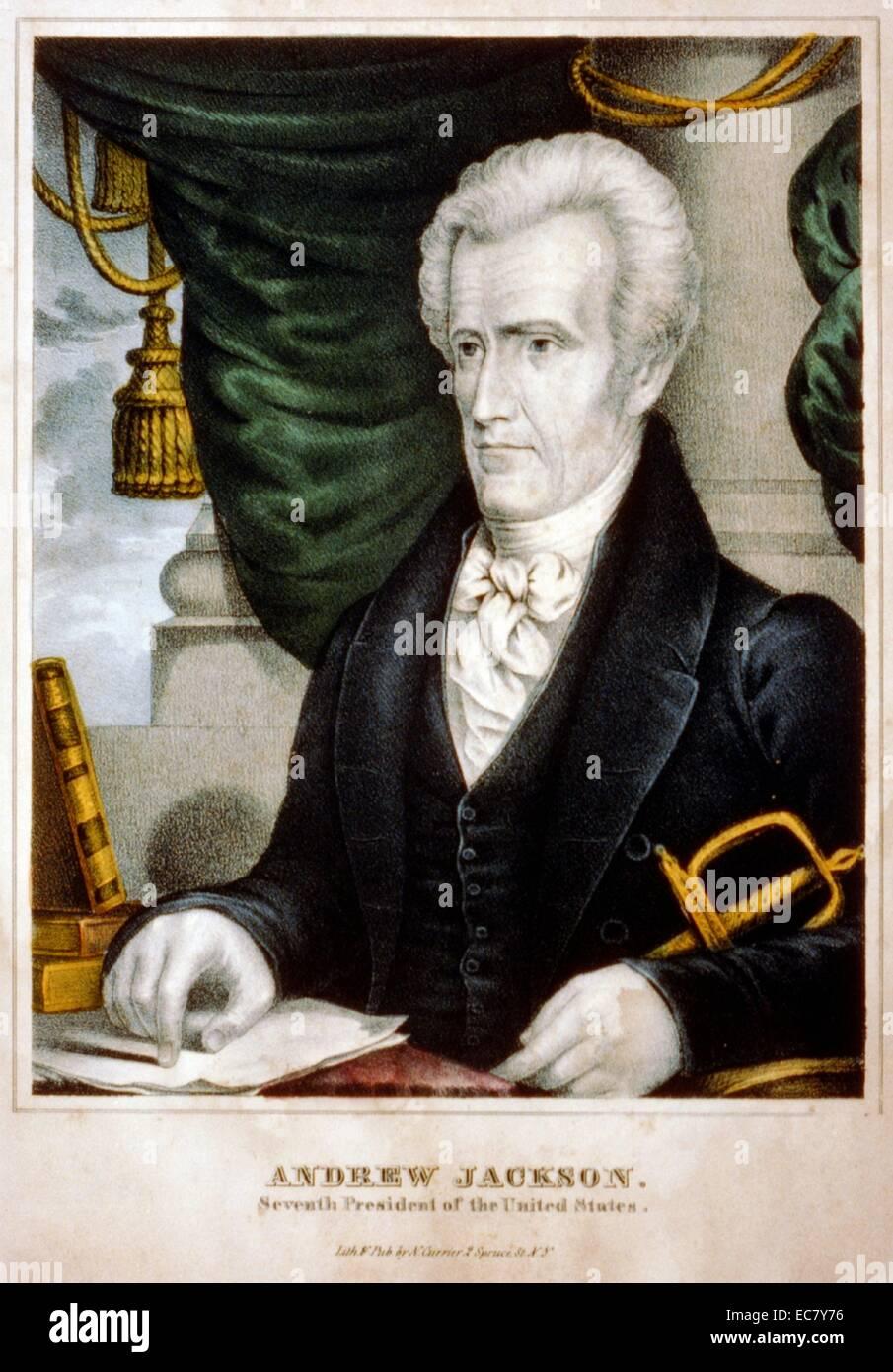 Andrew Jackson - Stock Image