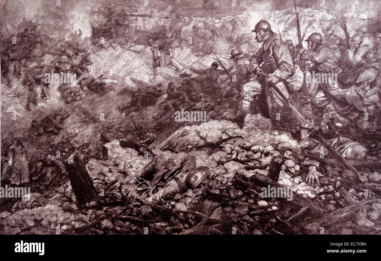 descriptions of the battles of verdun The battle of verdun in 1916 was the longest battle of world war one, which yielded many casualties and was the catalyst for the british starting the the attack on verdun (the germans code-named it 'judgment') came about because of a plan by the german chief of general staff, von falkenhayn.