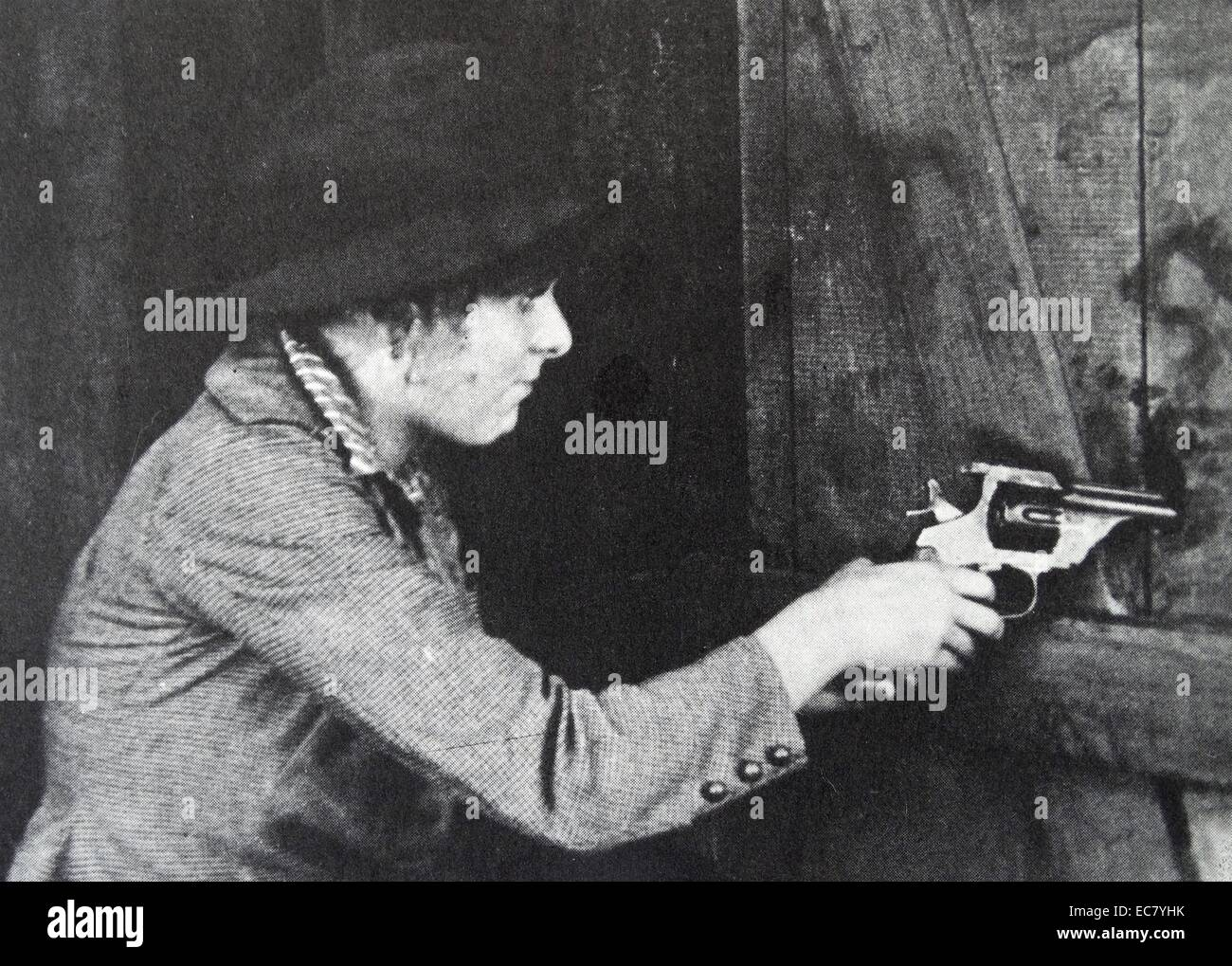 'Fighting Blood', 1911 directed by Griffith for Biograph, with Blanche Sweet. - Stock Image