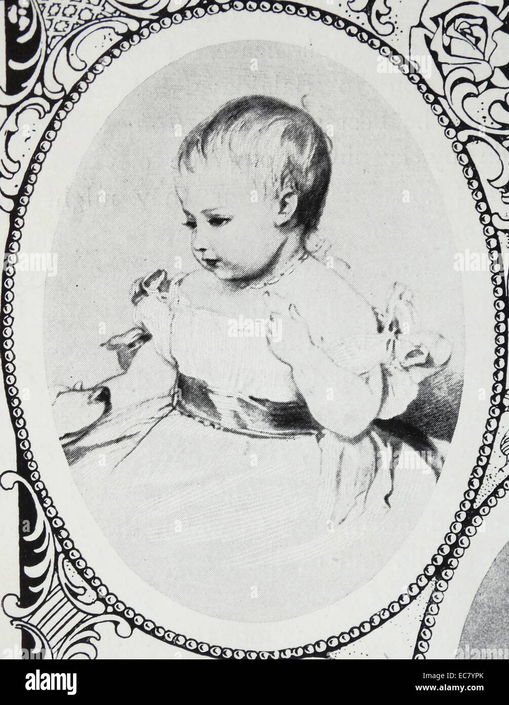 Victoria; Princess Royal (21 November 1840 – 5 August 1901) eldest child of Queen Victoria of the United Kingdom Stock Photo