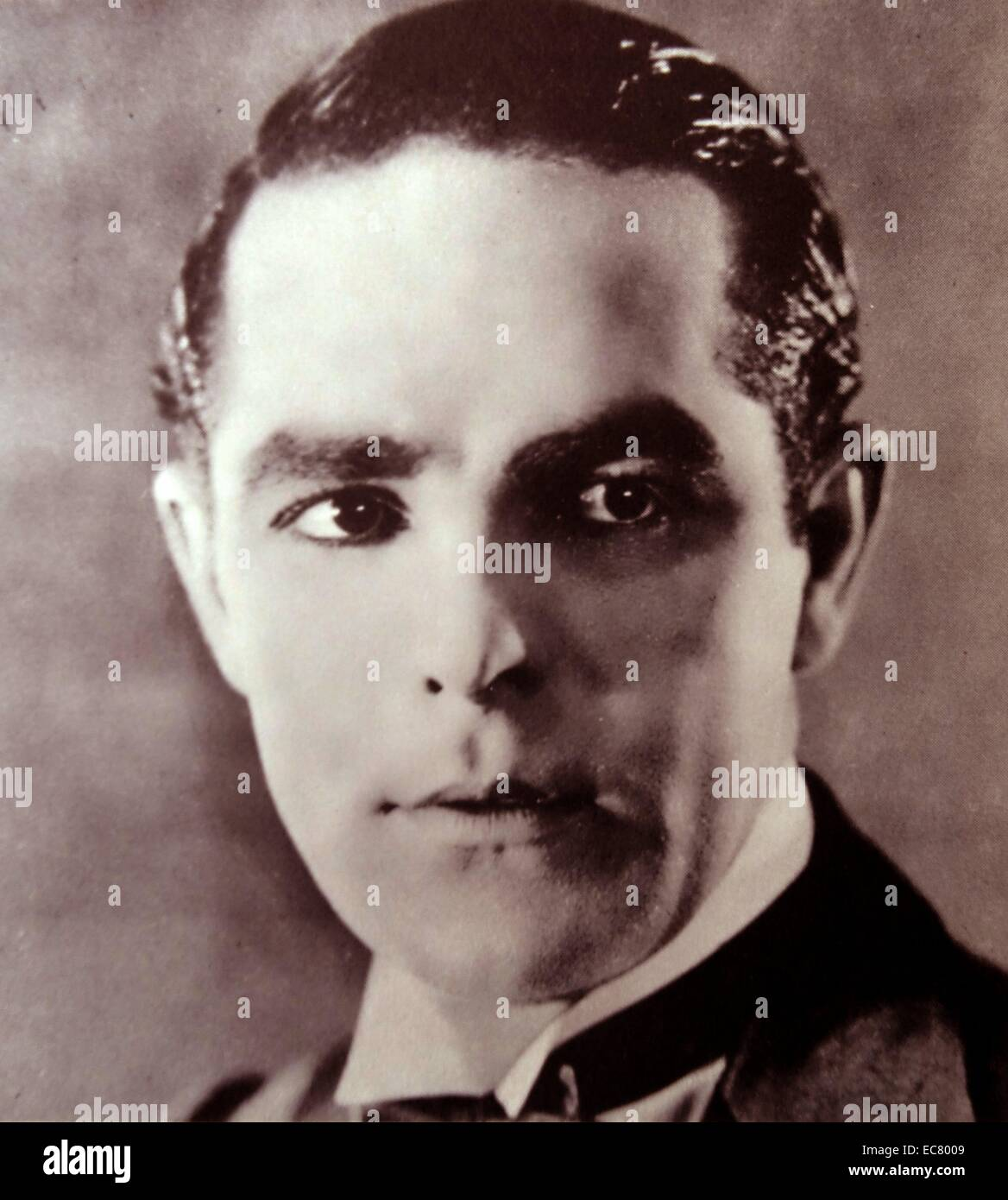 The fading career of Antonio Moreno, who entered films in 1913 - Stock Image
